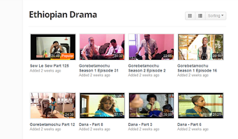 Screenshot of Ethiopian Drama