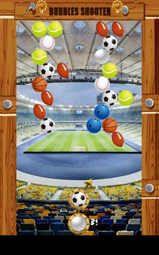 Classic Sport Bubble Game