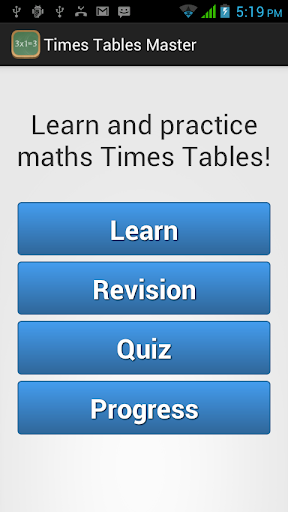 Times Tables Master