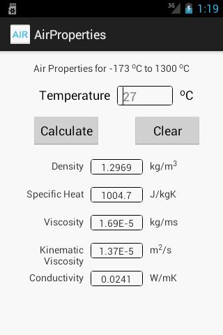 Air Properties