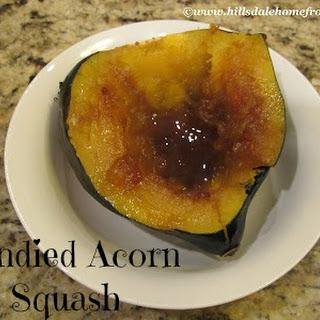 candied acorn squash family fun journal acorn squash brown sugar maple ...