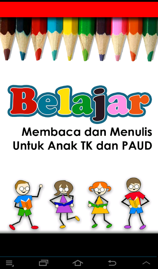 Belajar Membaca Menulis Abjad - Android Apps on Google Play