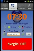 Screenshot of SpeakTime Naked Free widget