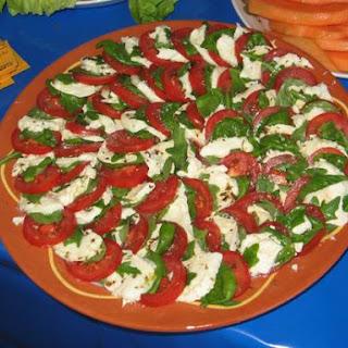 Insalata Caprese - Mozzarella-tomaatsalade