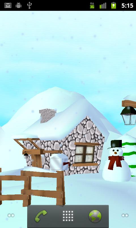 Winter 3D Free Live Wallpaper - screenshot