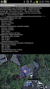 GPS Benchmark - screenshot thumbnail