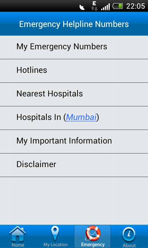 ICE - Mumbai Police - screenshot