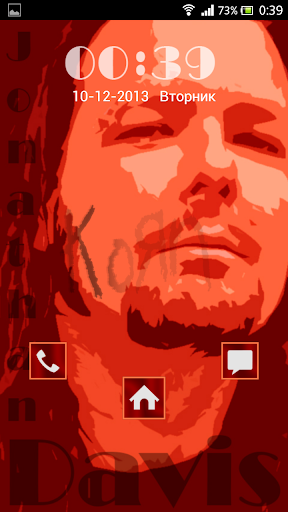Korn JD GO Locker Theme