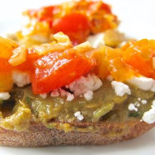Avocado Egg Toast with Tomato Salsa