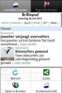 Kranten NL  (Nederland nieuws)- screenshot thumbnail