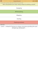 Screenshot of SSAT English Comprehension LE