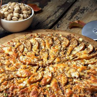 Pear, Goat Cheese & Pistachio Pizza