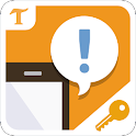 Past Notifications (Key) icon
