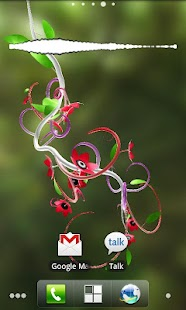 Jungle of Flowers 3D LWP - screenshot thumbnail