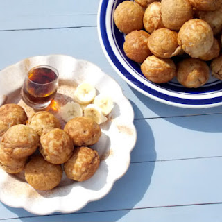 Clean Eating Whole Wheat Aebleskiver.