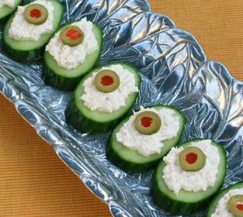 10 Best Stuffed Cucumber Appetizers Recipes
