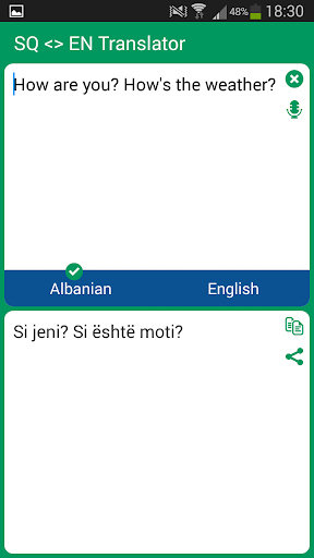 Albanian - English Translator