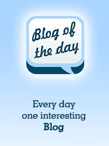 Blog of the Day