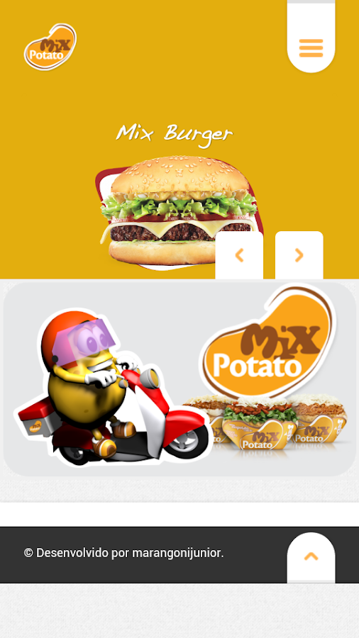 Mix Potato Delivery- screenshot
