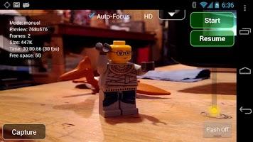 Screenshot of LookSee Animator