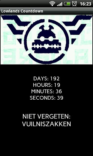 Lowlands 2014 Countdown