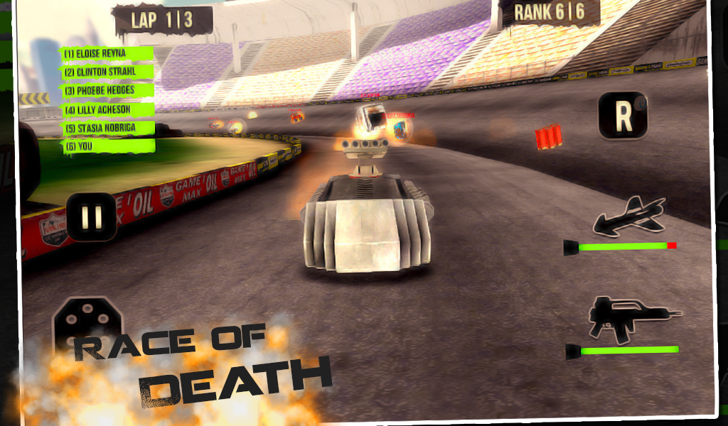 3D Dark Racers- screenshot