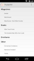 Screenshot of Ministry Helper / Pocket RV