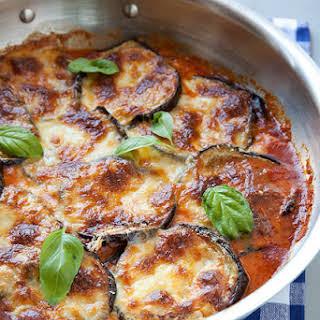 No Breadcrumbs Eggplant Parmesan Recipes.