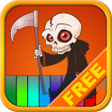 Kids Halloween Piano Free icon