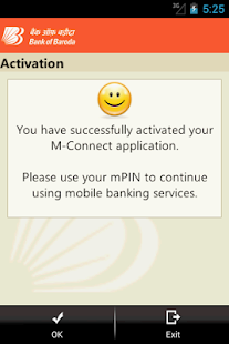 Bank of Baroda M-Connect- screenshot thumbnail