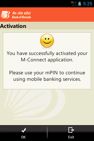 Bank of Baroda M-Connect- screenshot