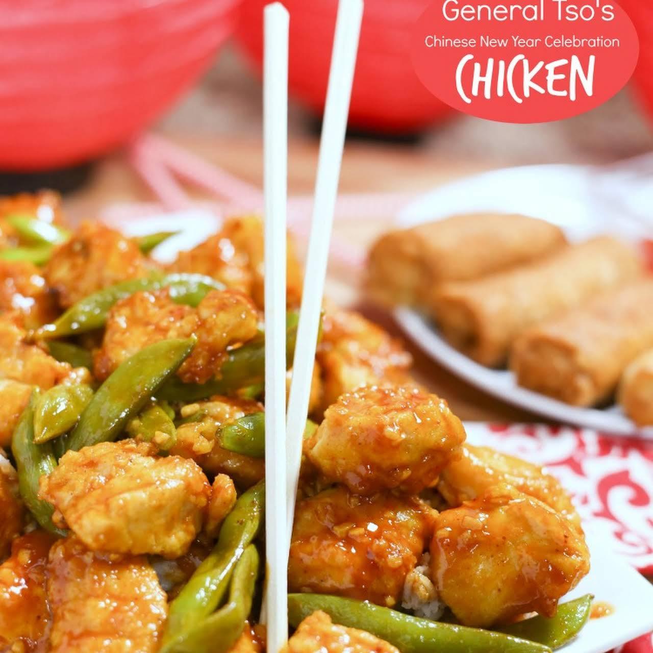 General Tsos Chicken Chinese New Year Celebration