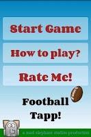 Screenshot of Football Games - Rugby Juggle