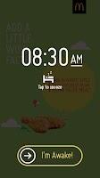 Screenshot of McDonald's® Surprise Alarm