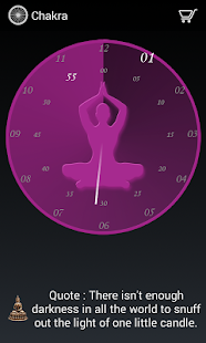 Chakra clock- screenshot thumbnail
