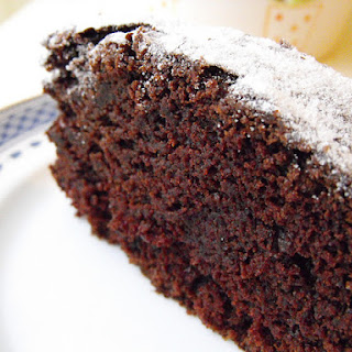 Chocolate Cake with Vinegar.