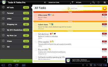 Tasks N ToDos Pro - To Do List Screenshot 10
