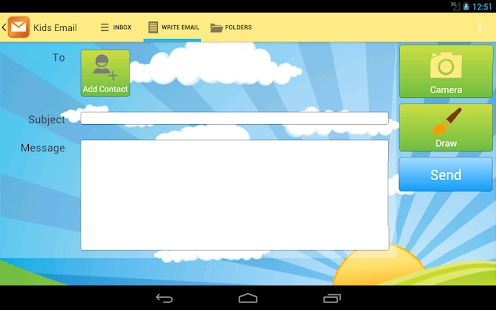 Kids Email - Email for Kids!- screenshot thumbnail
