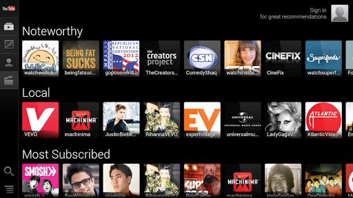 【免費娛樂App】YouTube for Google TV-APP點子