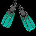 Deep - freediving simulator icon
