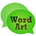 WordArt Chat Sticker WC icon