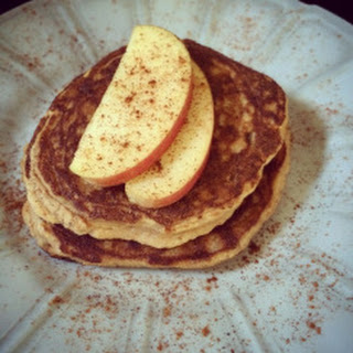 Cinnamon Apple Pancakes.