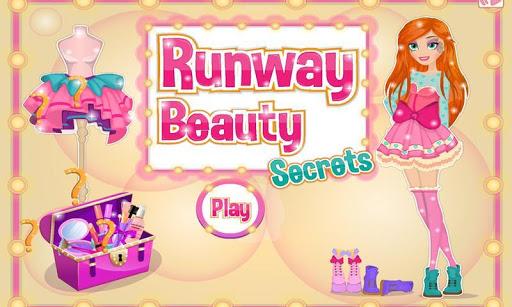 跑道上的美容秘訣裝扮:款式時尚,化妝,小遊戲等等