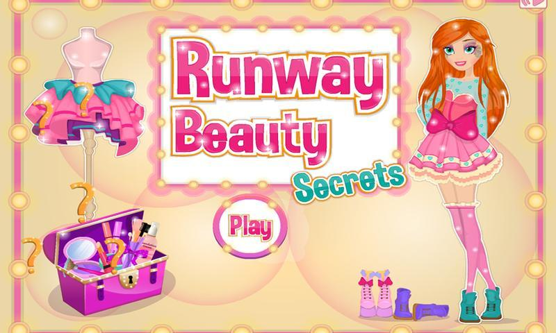 Runway Beauty Secrets Dress Up - screenshot
