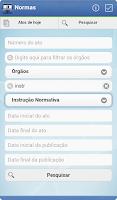 Screenshot of Normas