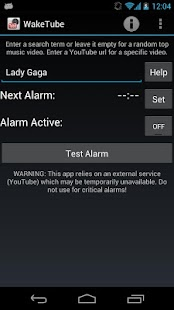 WakeTube - YouTube Alarm Pro - screenshot thumbnail