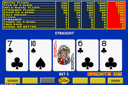 Video Poker 4.1 screenshot 227137