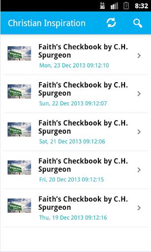 Daily Devotion Faith Check
