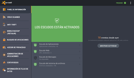 Mobile Security & Antivirus: miniatura de captura de pantalla