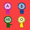 혈액형 탐구 logo